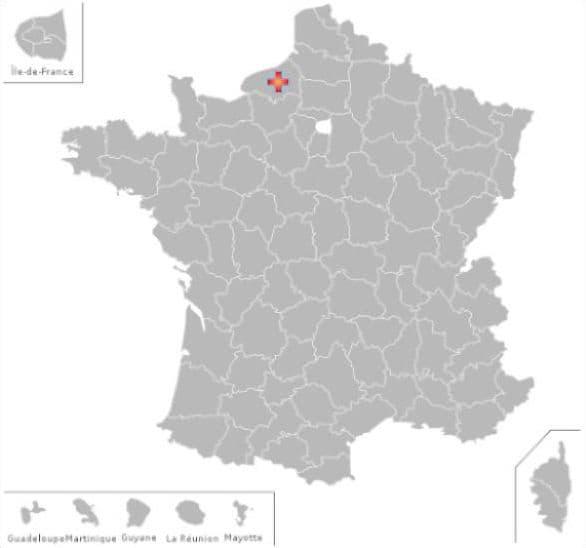 Départements et communes