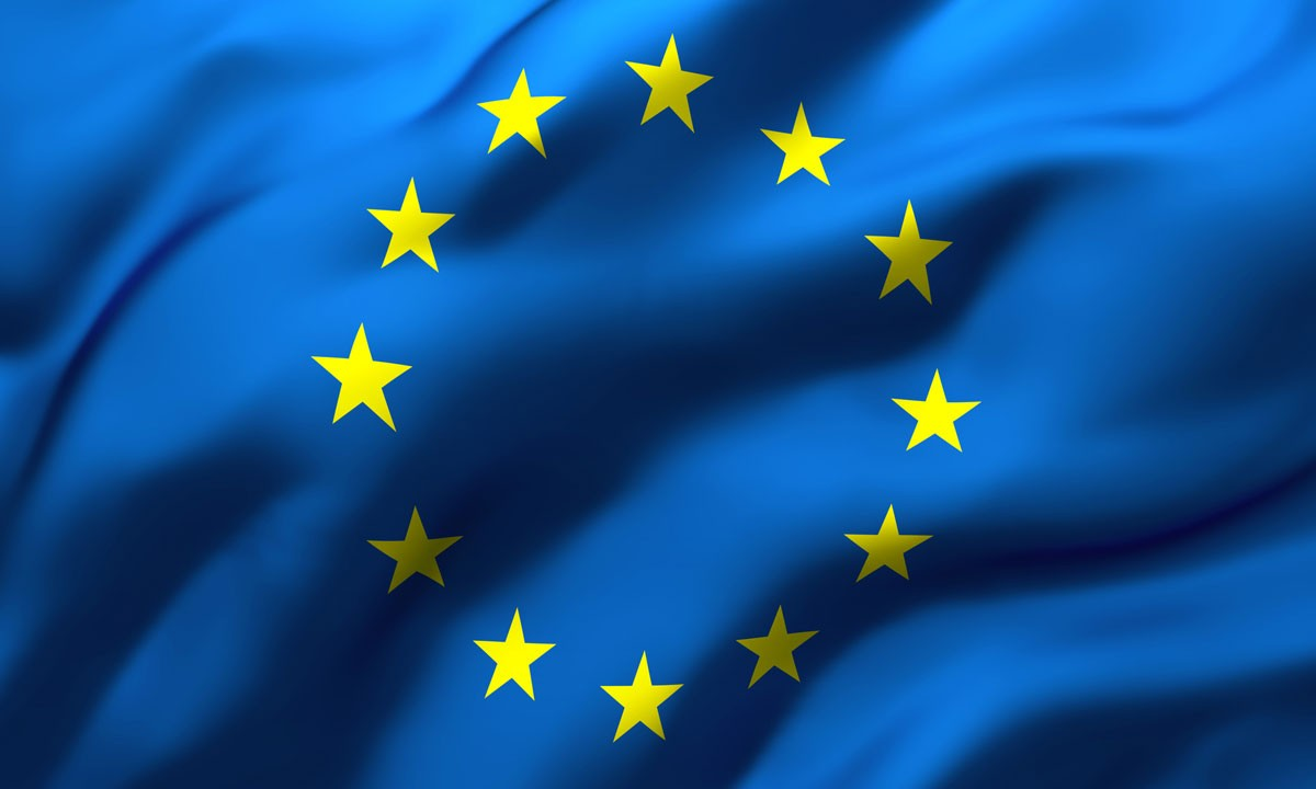 Les drapeaux d'Europe