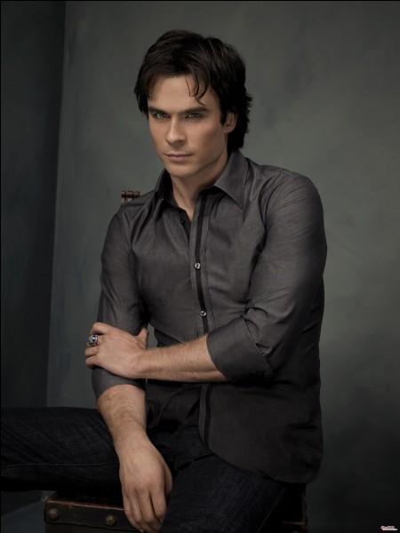 """Dans """"Vampire Diaries"""", par qui le rôle de Damon est-il joué ?"""