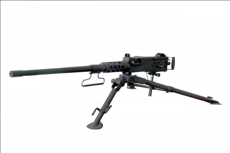 Comment se nomme cette mitrailleuse américaine ?