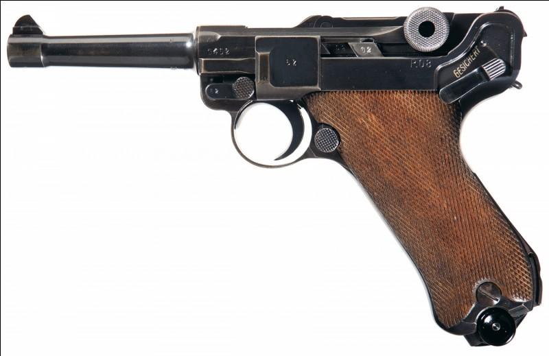 Comment se nomme ce pistolet allemand ?