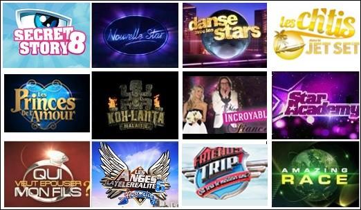 Quelle est ta télé-réalité préférée ?