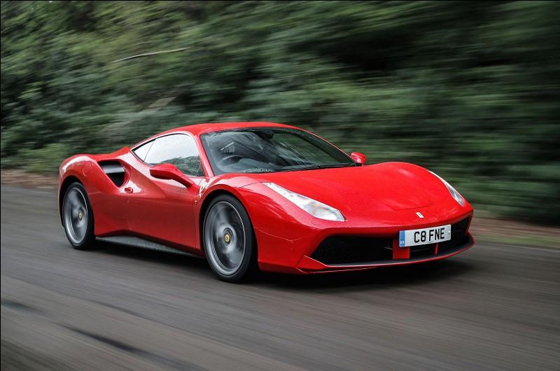Une Ferrari accélère !