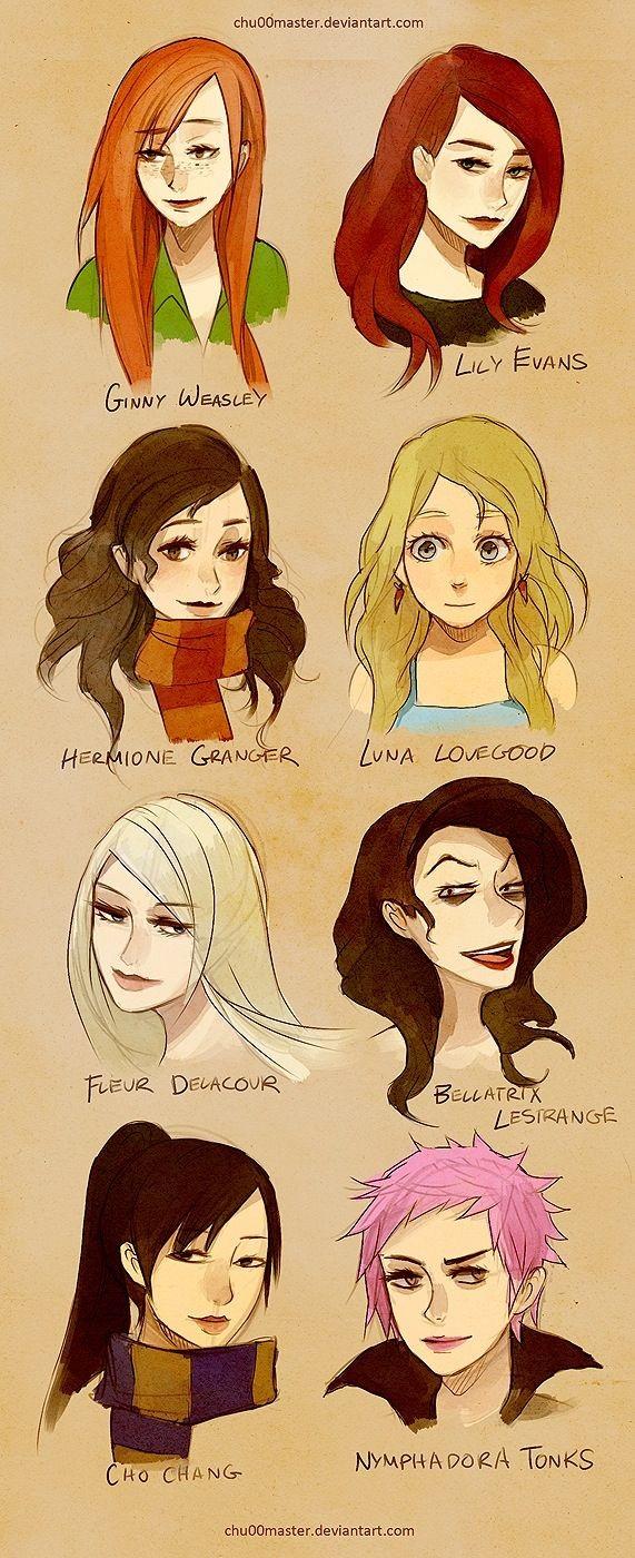 Harry Potter : quel personnage féminin es-tu ?
