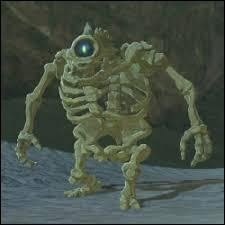 Comment s'appelle le squelette géant ?