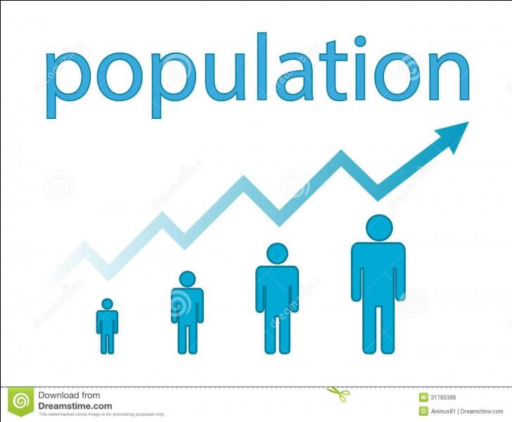 En quelle année le Mont Saint-Michel a-t-il battu un record de population à 1182 habitants soit environ 296 habitants / km² ?