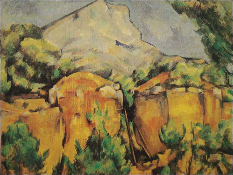 Qui a peint la montagne sainte-victoire ?