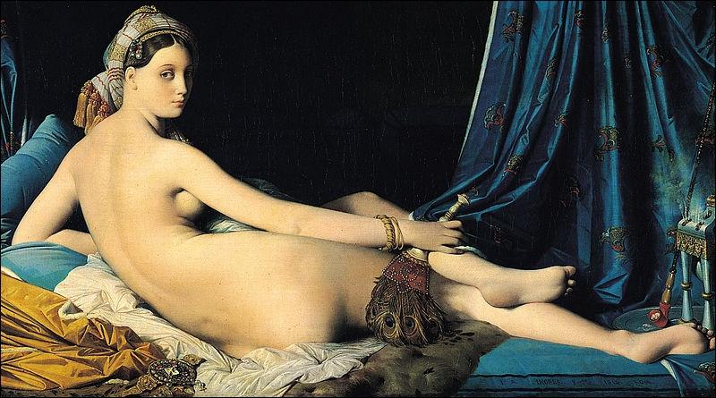 Qui a peint 'La Grande Odalisque' ?