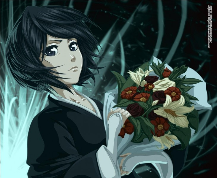 "Dans ""Bleach"", le Zanpakuto de Rukia Kuchiki est de type glace."