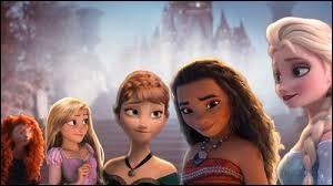 Mérida, Elsa et Vaiana sont les seules à ne pas s'être mariées.