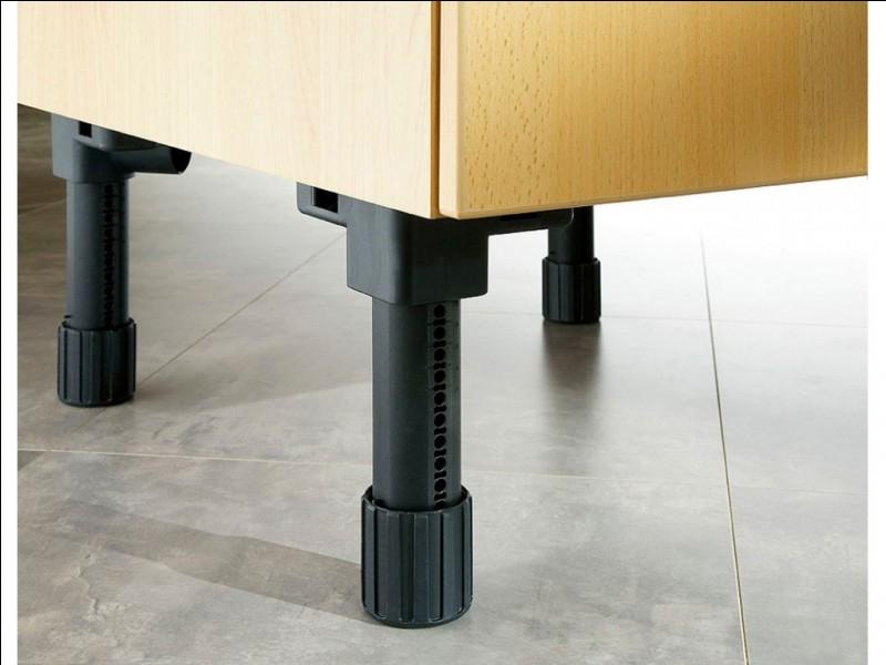 Appendice servant à détecter les pieds de meubles et les coins de portes !