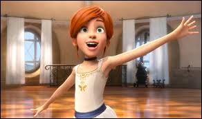 Qui apprend la danse à Félicie ?