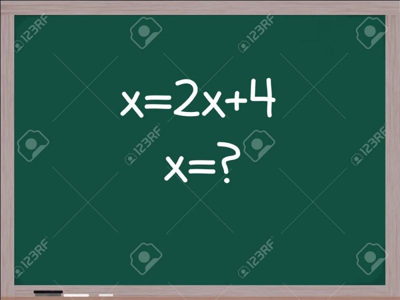 Quel est le comble pour un prof de maths ?
