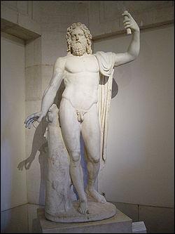Il est le dieu romain du Ciel. Il est aussi le père des dieux. Il a pour symbole l'aigle et la foudre.