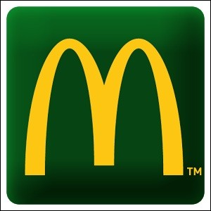 Un fast-food connu dans le monde entier. Quel est ce logo ?