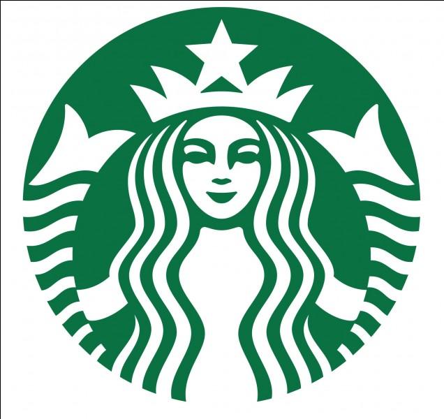 Café mondialement connu. Quel est ce logo ?