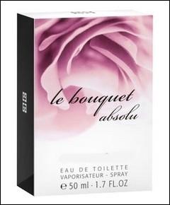 """L'eau de toilette """"Le bouquet absolu"""" appartient au grand couturier et parfumeur prénommé Hubert :"""