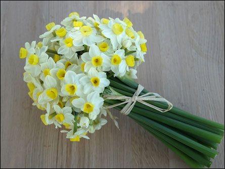 Le premier bouquet sera un bouquet de fleurs. Lesquelles ?