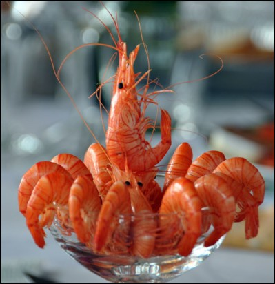 Qu'est-ce qu'un bouquet de crevettes ?
