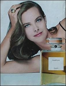 Pour quel grand parfum Carole Bouquet fut-elle l'égérie ?