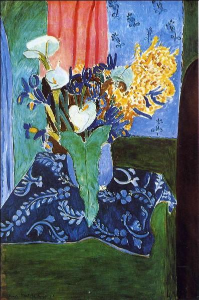 Quel peintre fauve a représenté ce joli bouquet de fleurs ?