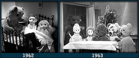 """En 1962 afin d'inciter les enfants à aller se coucher, un gros nounours passe leur dire bonsoir accompagné d'un marchand de sable ! C'est la première émission de """"Bonne nuit les petits"""". Comment s'appelaient les enfants qu'ils venaient visiter chaque soir ?"""