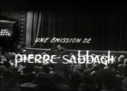"""A partir de 1966, on se réjouissait d'assister à un peu de théâtre de boulevard dans l'émission """"Au théâtre ce soir"""". De qui étaient les décors ?"""