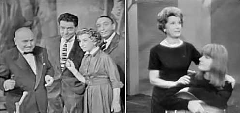 """En 1955 on découvrait, sur l'écran, """"Le petit conservatoire de la chanson"""" présenté par :"""