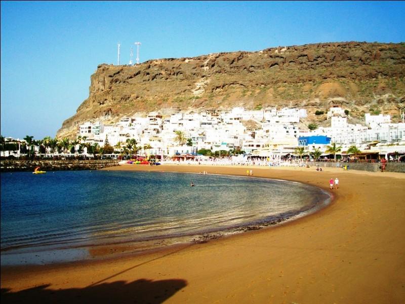 Voici la plage du superbe village de Puerto de Mogán, sur l'île de Gran Canaria. Dans quel pays cette photo a-t-elle été prise ?