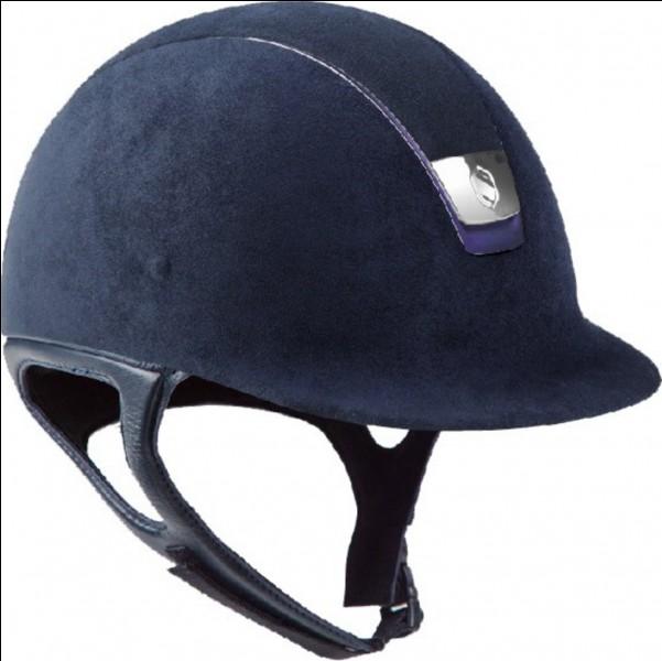 Quel est le nom du casque du cavalier ?