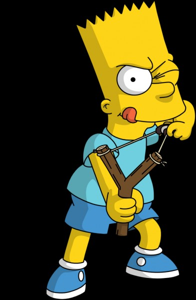 """Dans les """"Simpson"""", le meilleur ami de Bart Simpson se nomme Milhouse."""