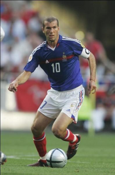 Zinédine Zidane n'était pas présent lors de la Coupe du monde de football en 1998.