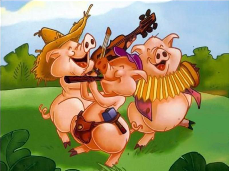 Lequel des 3 petits cochons habitait la maison de briques ?