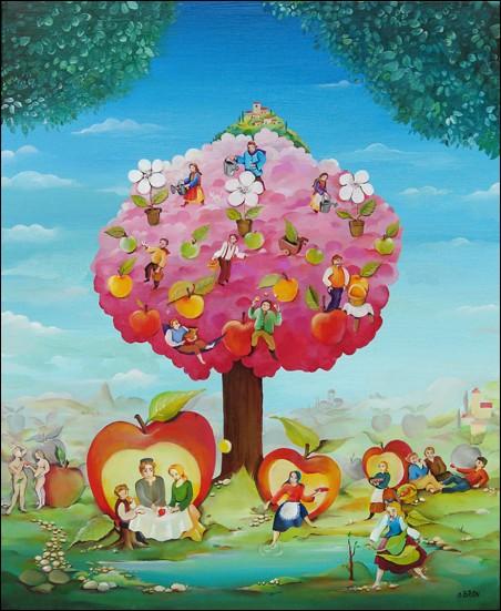 Dans la Bible que représente l'arbre de vie dans le jardin d'Eden ?