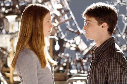 Quand Harry et Ginny s'embrassent 'ils pour la première fois ?