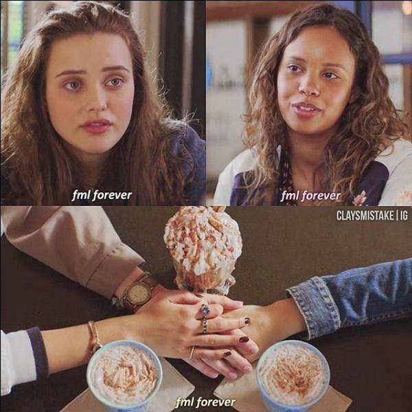 Comment se nomme le café dans lequel Hannah, Jessica et Alex se retrouvait ?