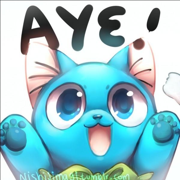 Je suis un chat bleu qui parle et je peux voler. Qui suis-je ?