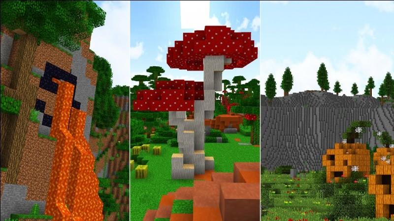 Si tu devais aller dans un biome ou un monde, lequel choisirais-tu ?