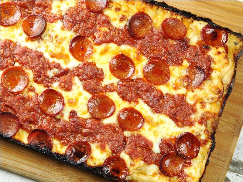 Trouvez-moi la ville d'origine de la pizza !