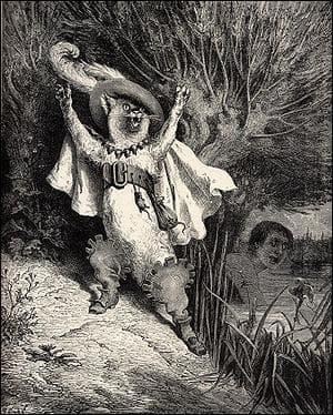 C'est l'histoire d'un animal domestique parlant et doué de raison qui aide le troisième fils d'un meunier à combattre un ogre pour devenir l'époux de la princesse du royaume.