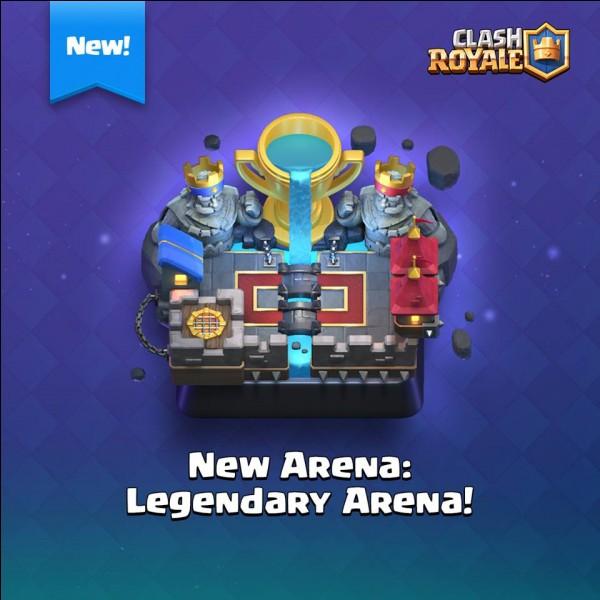 À partir de combien de trophées cette arène est-elle disponible ?