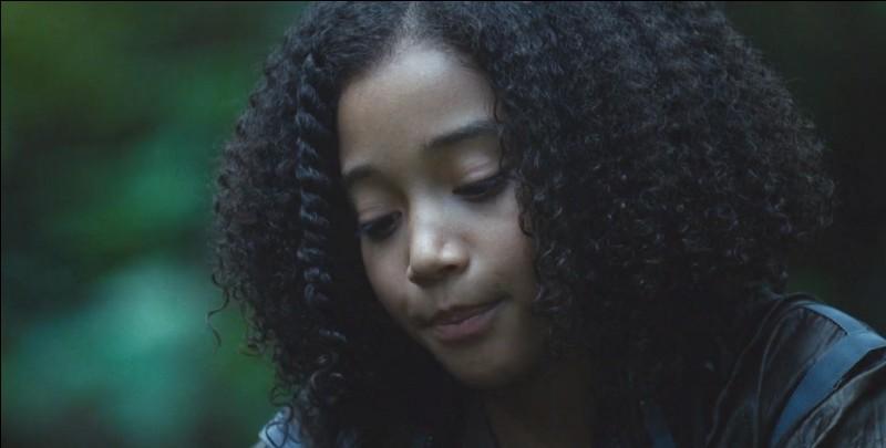 Qui a tué Rue, la petite fille qui était une amie de Katniss ?