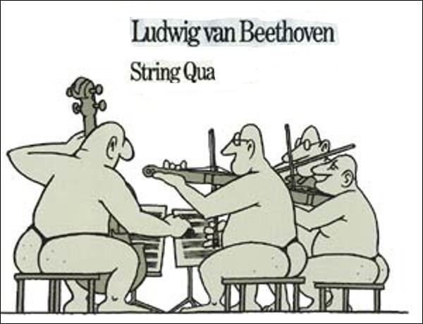 """Q - Un groupe de jazz composé de quatre musiciens est une """"quadrette""""."""