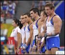 Combien d'épreuves comptent les compétitions masculines de gymnastique ?