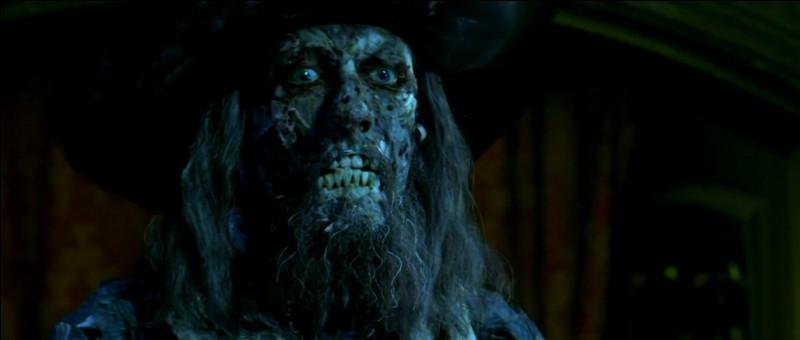 Quelles sont les dernières paroles qu'il prononce avant de mourir, dans le premier film (La malédiction du Black Pearl) ?