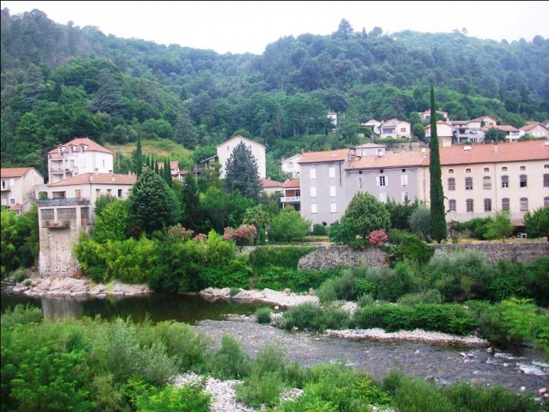 Quelle est cette station thermale située au confluent de la Volane et de l'Ardèche et réputée pour ses pastilles et ses sources naturellement pétillantes ?