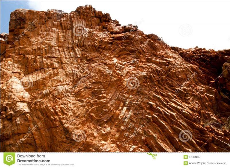 En géologie, comment appelle-t-on un dépôt laissé par le vent ?