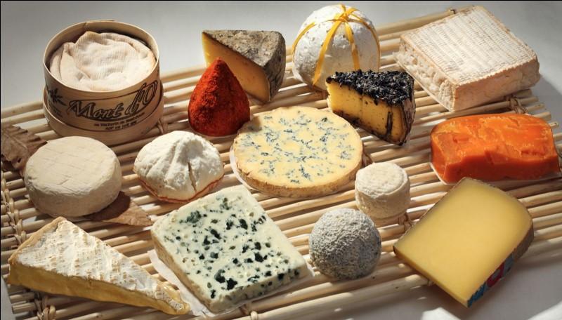 Choisis un fromage.