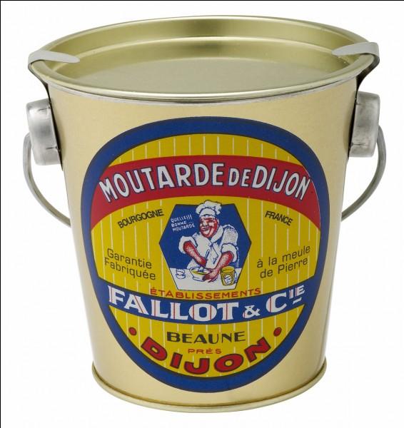 Quelle est la différence principale entre moutarde de Dijon et moutarde de Bourgogne ?