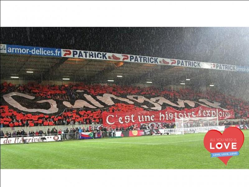 Comment se nomme le stade du club de football de l'En Avant de Guingamp ?